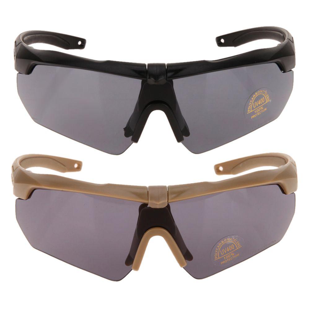 Tr90 Polarisierte Bike Radfahren Brillen Outdoor Sport-sonnenbrille UV400 3 objektiv Armee Tactical Military Shooting Brille