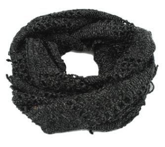 Qing Fang creux corde écharpe printemps et automne et d'hiver de mode glands tricot idyllique solide couleur Mme écharpe rectangulaire