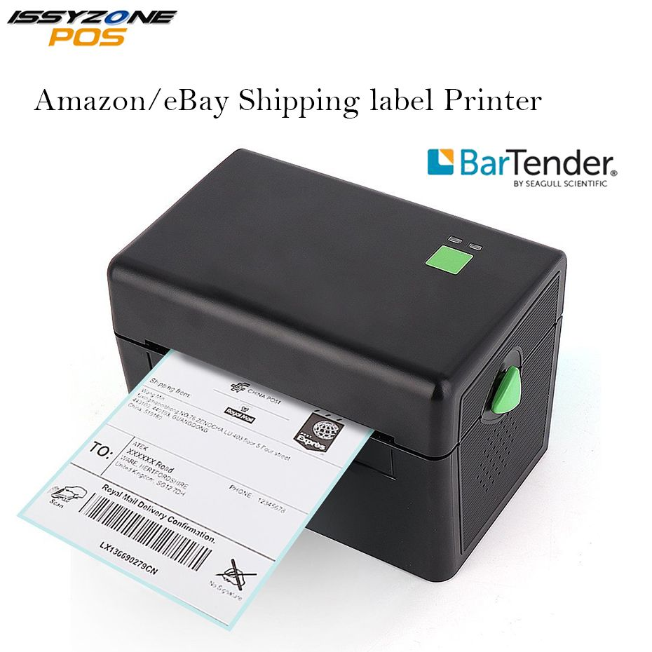 4 Inch 127mm/s Cheap Thermal Label Sticker Barcode Printer USB Port 2D Barcode FREE Bar code Edit Software ITPP072