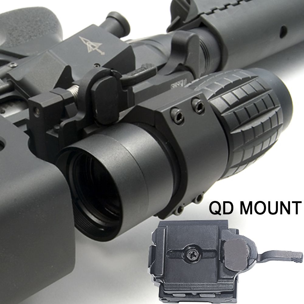 WIPSON Tactical Aim Optic sight 3X Magnifier Scope Compact Hunting Riflescope Sights with Fit for 20mm Rifle Gun Rail Mount