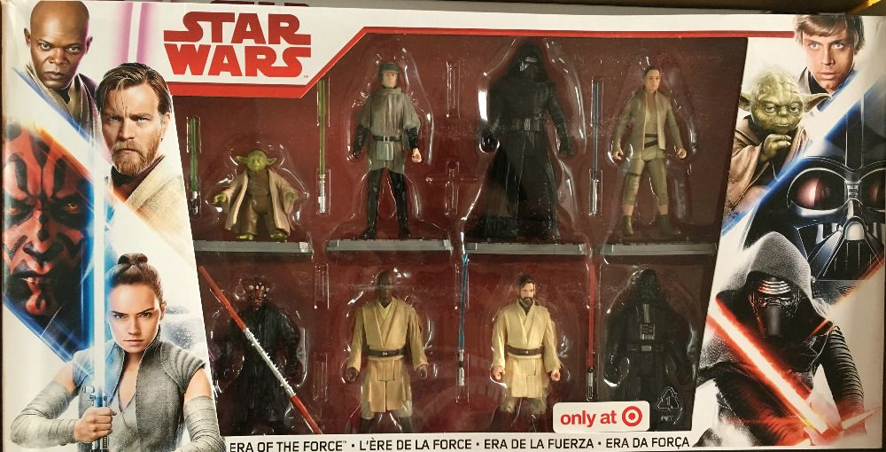 8pcs Star Wars Era of the Force 8 Pack Exclusive Collection figure