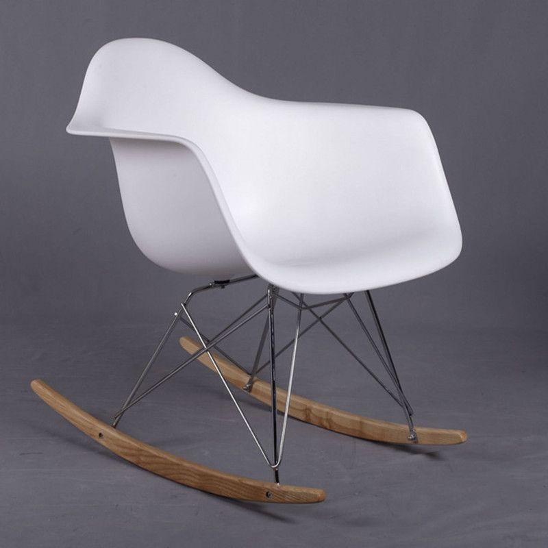 XiaoSen Meubles De Mode en plastique chaise de loisirs. la chaise berçante avec accoudoir. très moment dans le balcon ou une utilisation en extérieur.