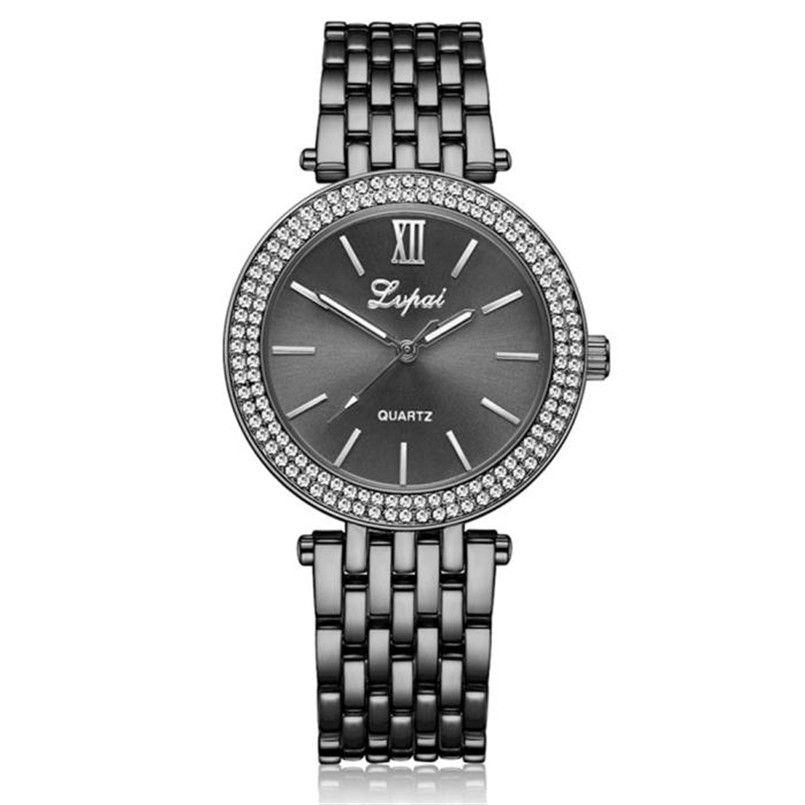 I06 высокое качество дамы lvpai Часы Для женщин кварцевые наручные часы женская одежда подарок Часы Оптовая продажа, Бесплатная доставка