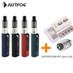 Original JUSTFOG P16A Kit Electronic Cigarette Kit with 900mAh Battery 1.9ml Tank Vape Kit 1.6ohm Coil Head VS JUSTFOG Q16 KIT