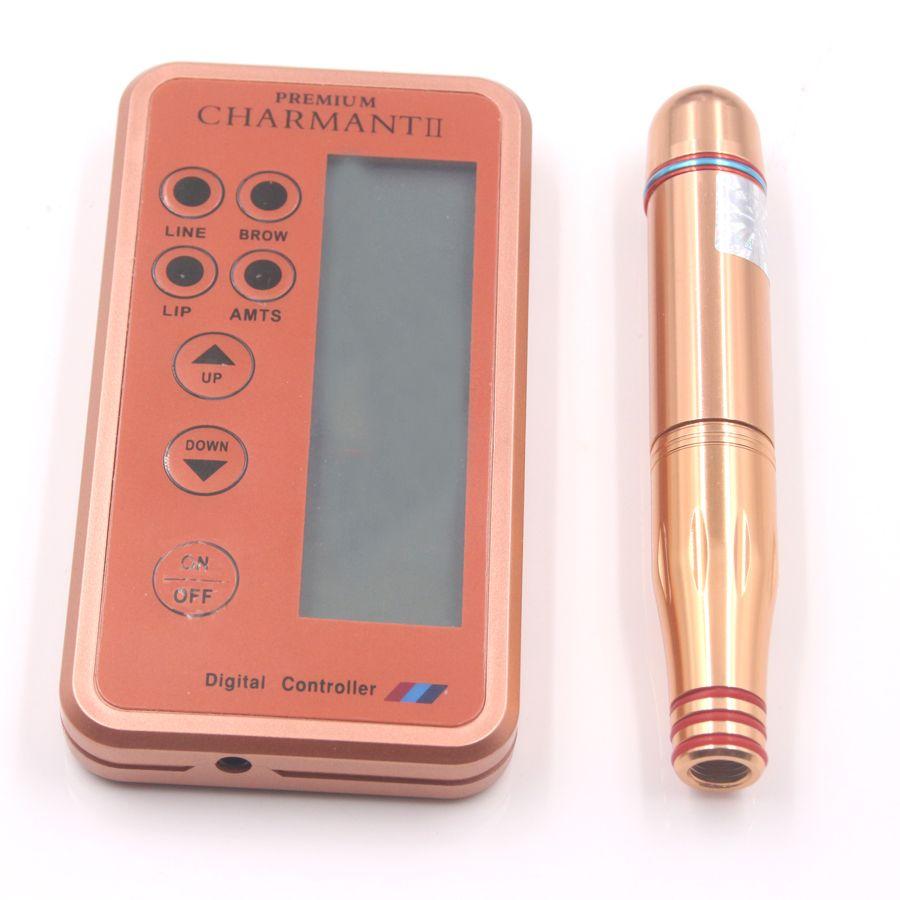 pcs new design digital charmant Permanent Makeup Machine Eyebrow Makeup Kits Lips Rotary Swiss Motor Tattoo Machine Kit