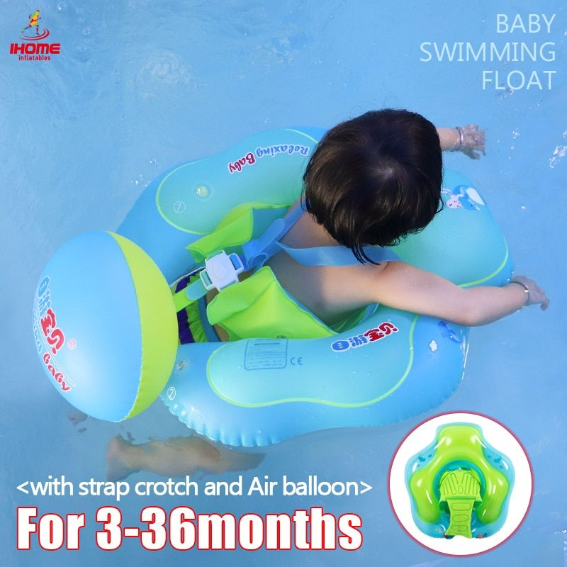 Swimming Ring Inflatable Floating Baby/Kids Swimming Pool Accessories Circle Bathing Inflatable Double Raft Rings Dropshipping