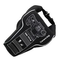2017 NEW Waterproof Quakeproof Camera Lens Video Bag Storage Case PU/Cloth for Canon Nikon Sony Pentax Fujifilm DSLR Camera