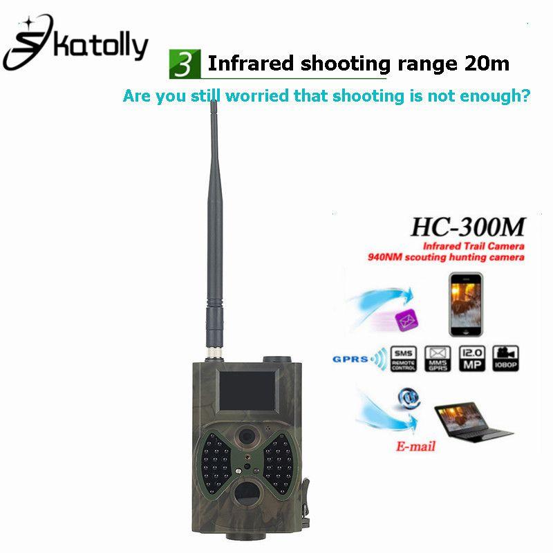 Skatoll HC300M 940NM Nachtsicht Jagd Kamera HD 1080 P GPRS MMS Digitale Infrarot Jagdkamera MMS IR Trail Kamera