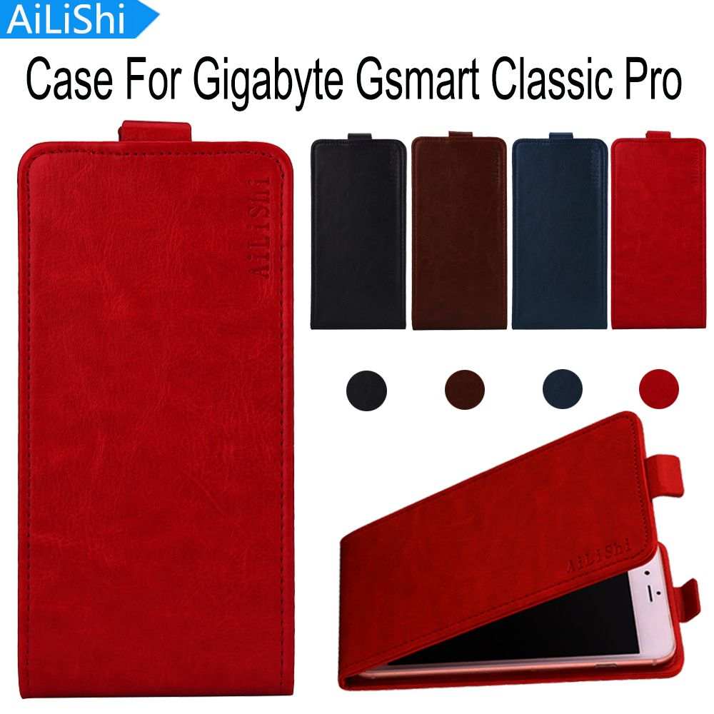 AiLiShi For Gigabyte Gsmart Classic Pro Case Luxury Up And Down Flip PU Leather Case Hot Sale Protective Cover Skin In Stock
