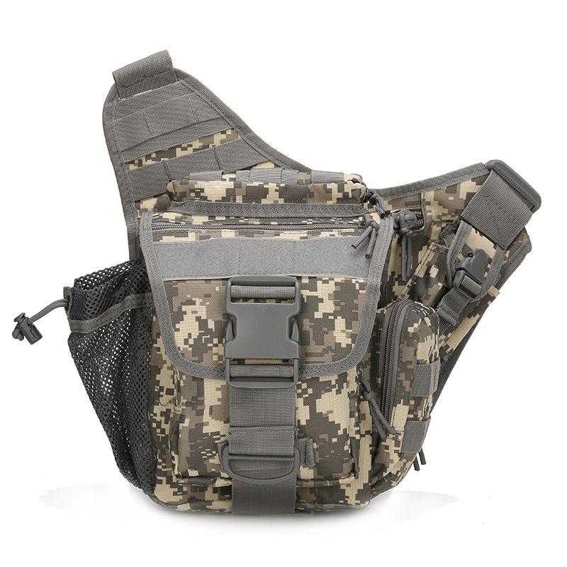 Обновления камуфляж 3C карман пояса 1000D сумка тактика Многофункциональный Для мужчин Камера сумка Jambe Bolsillo tactico седло