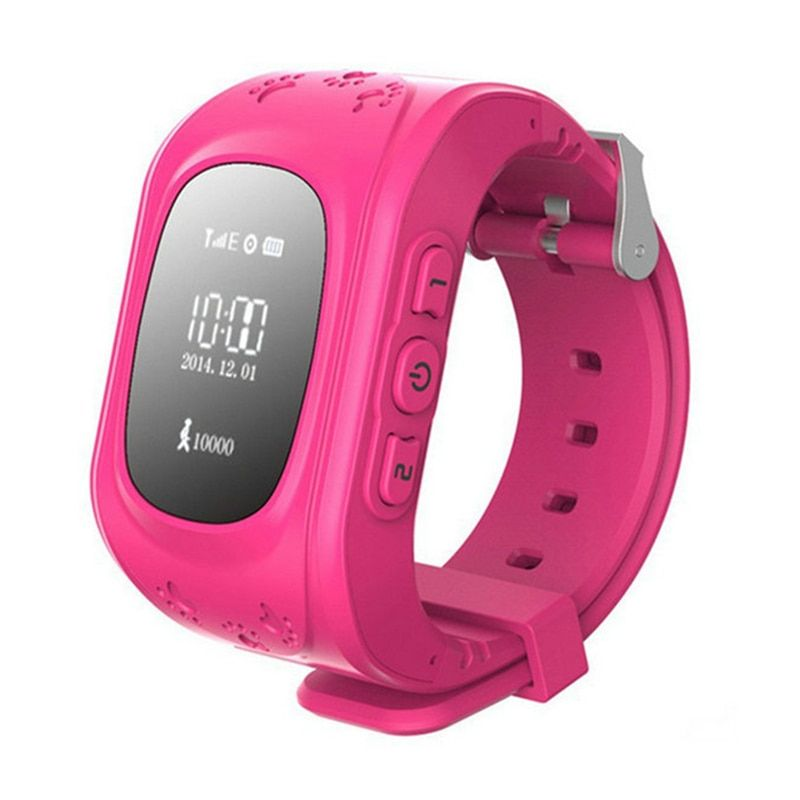 Children Monitor Kid SIM Tracking <font><b>Device</b></font> Q50 Finder Anti-lost Safe SOS Call Location Finder Communication Telephone
