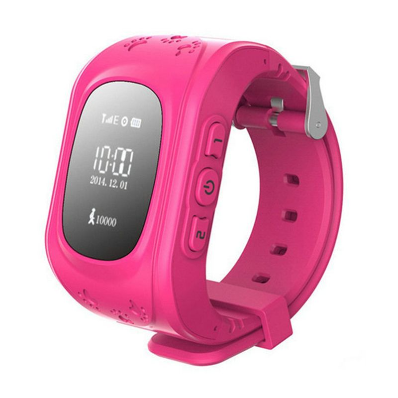 Children Monitor Kid SIM <font><b>Tracking</b></font> Device Q50 Finder Anti-lost Safe SOS Call Location Finder Communication Telephone