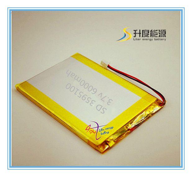 XHR-2P 2,54 6000 mAh 3,7 V lithium-polymer-akku backup-stromversorgung 3493100 mobile audio-visuelle 3595100