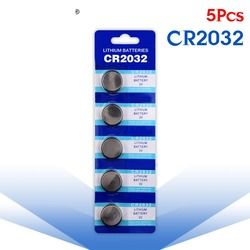 YCDC 5 Pcs pile Bouton 3 V Lithium Coin Cellules Bouton Batterie 5004LC ECR2032 CR2032 DL2032 KCR2032 EE6227