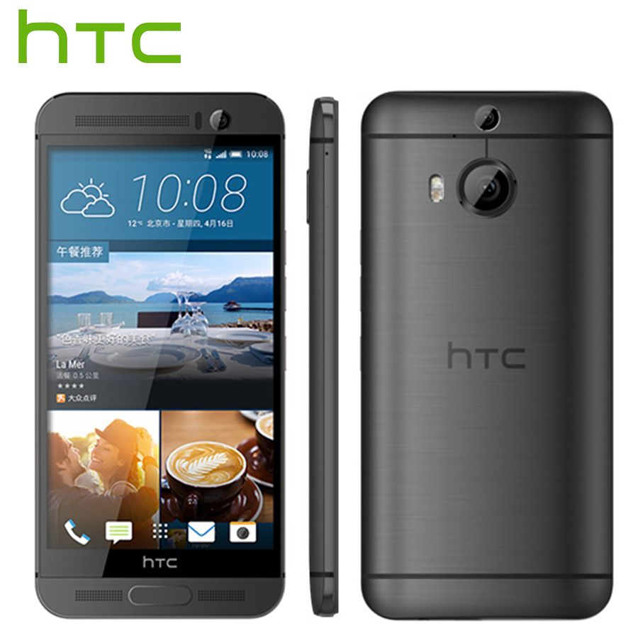 EU Version HTC EINS M9 + M9pw M9 Plus 4G LTE Handy Octa Core 3GB RAM 32GB ROM 5,2 inch 2560x1440 Dual Kamera 20MP Handy