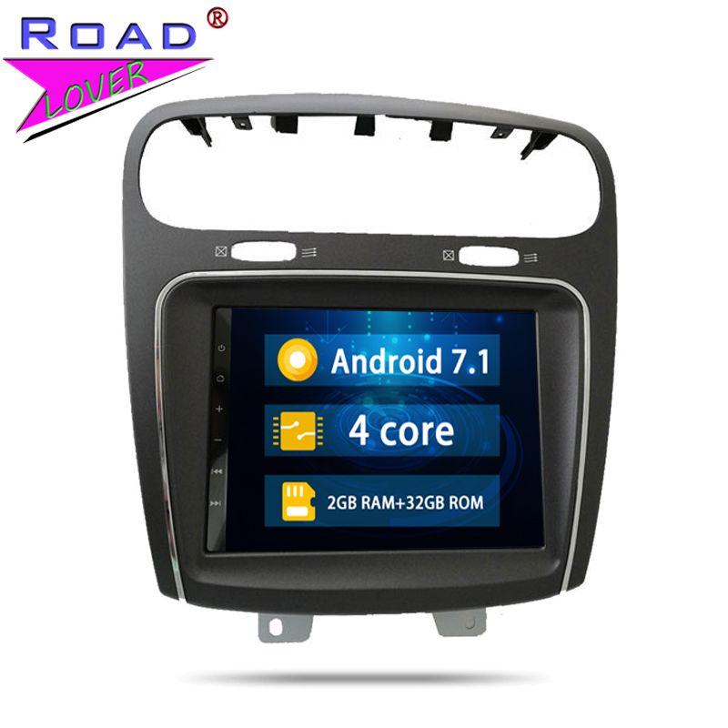 2 Din Android 7.1 Auto Radio Head Unit Autoradio-Player Für Fiat Leap Freemont Dodge Journey Stereo GPS Navigation Magnitol Video
