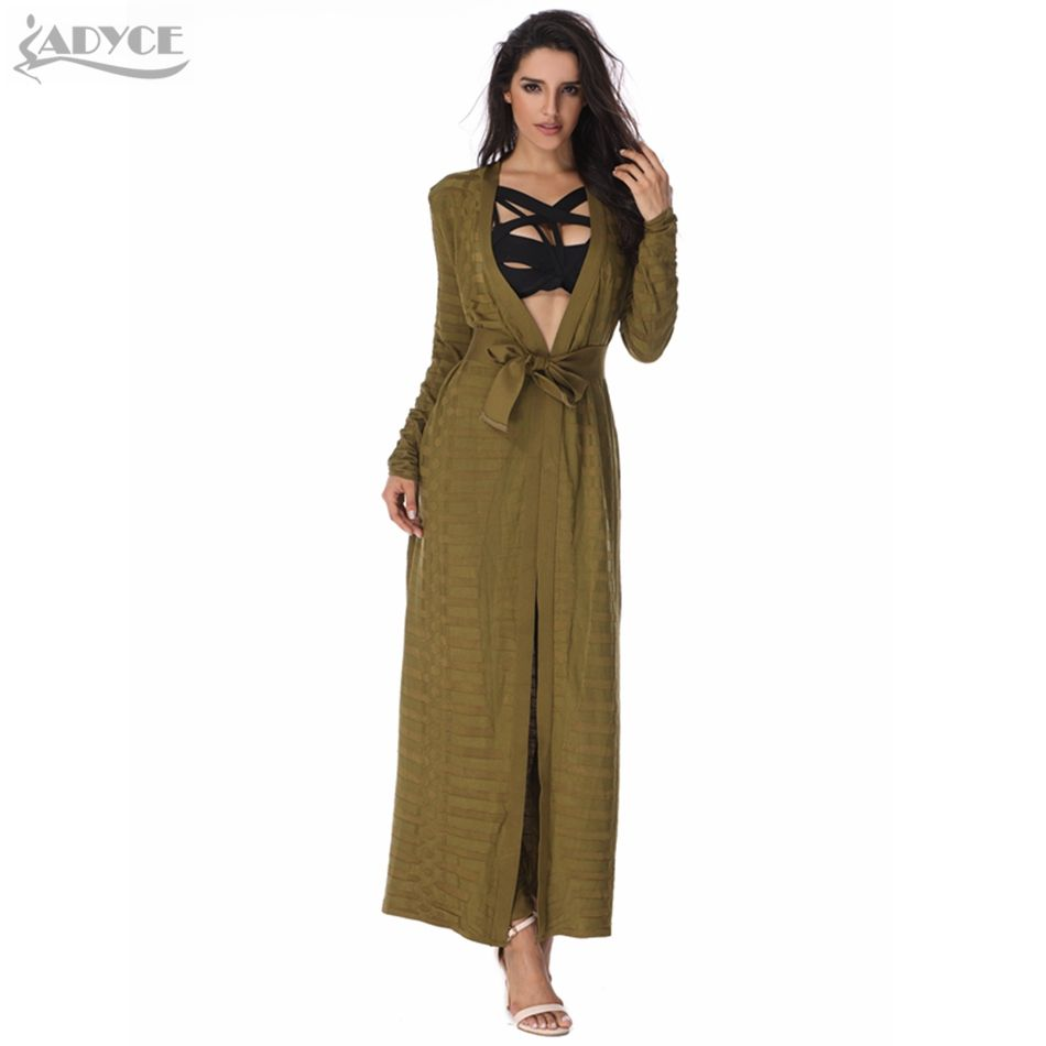 2018 New Summer Fashion Women basic Coats Runway Geometic Jacquard Celebrity Party Bandage Cardigan Bandage Jacket