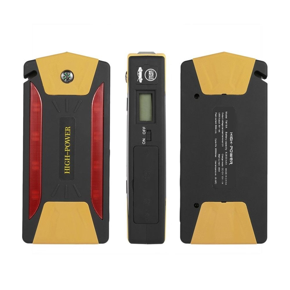 82800mAh Portable Car Jump Starter Battery Booster with USB Power Bank LED Flashlight for Truck Motorcycle Boat