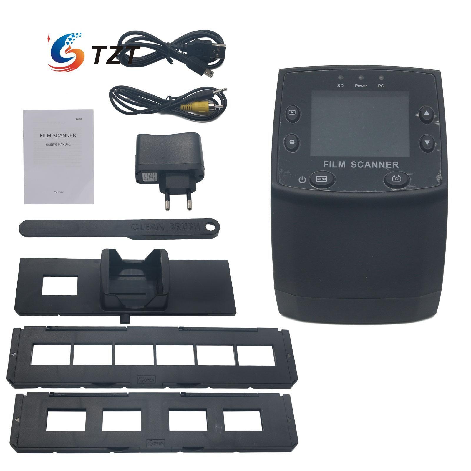 EC717 5MP Negative Film Slide Viewer Scanner USB Digital Color Monochrome Photo Copier