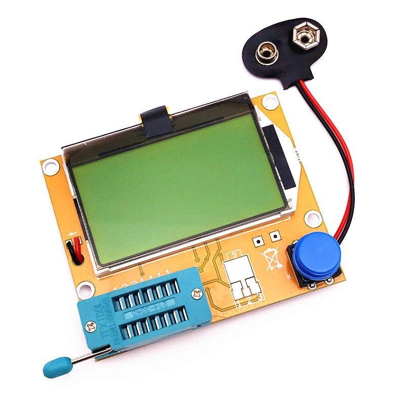 New Mega328 Transistor Tester Diode Triode Capacitance ESR Meter MOS/PNP/NPN L/C/R Well Working