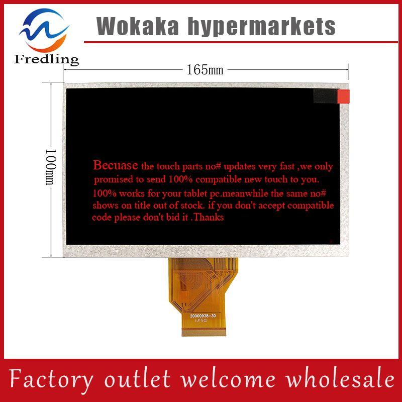7'' LCD Dispaly Replacement For Texet TB-720HD TB-730HD TB-740HD TB-780HD TB-790HD Panel Repair 165*100*5mm