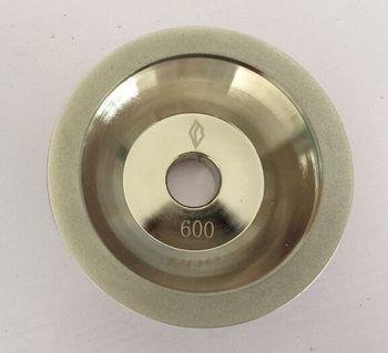 100x10x5x20 (3/4) x35mm Diamant Meule Tasse #100/150/200/320/400/600 Grit Cutter Grinder pour Carbure Métallique 11C9