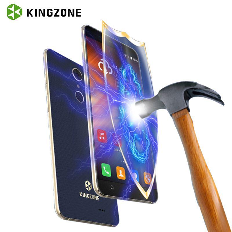 KINGZONE S3 <font><b>Shockproof</b></font> Smartphone 5 Inch Android 6.0 Quad Core 1GB RAM 8GB ROM Telefone Celular Fingerprint 3G Mobile Phone GPS