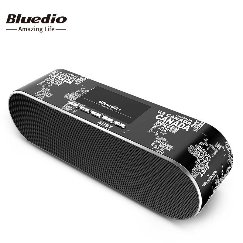 Bluedio New AS Mini Bluetooth Speaker Portable Wireless Speakers Sound System 3D stereo Music surround for Smartphone BT4.1