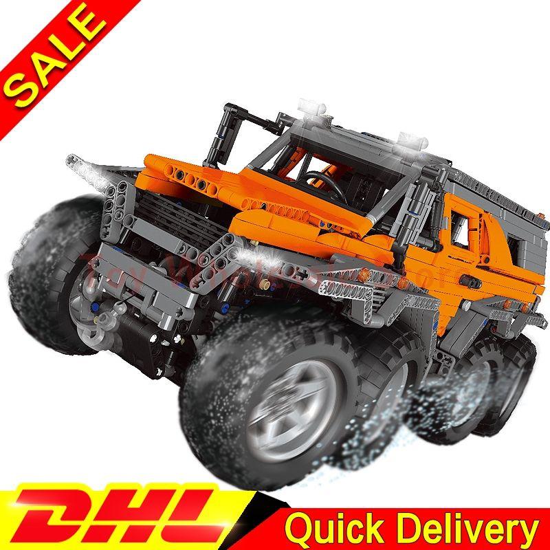 LEPIN 23011 2959Pcs Technic Series Off-road vehicle car-styling Model Building Kits Block Bricks lepins Toys Clone 5360