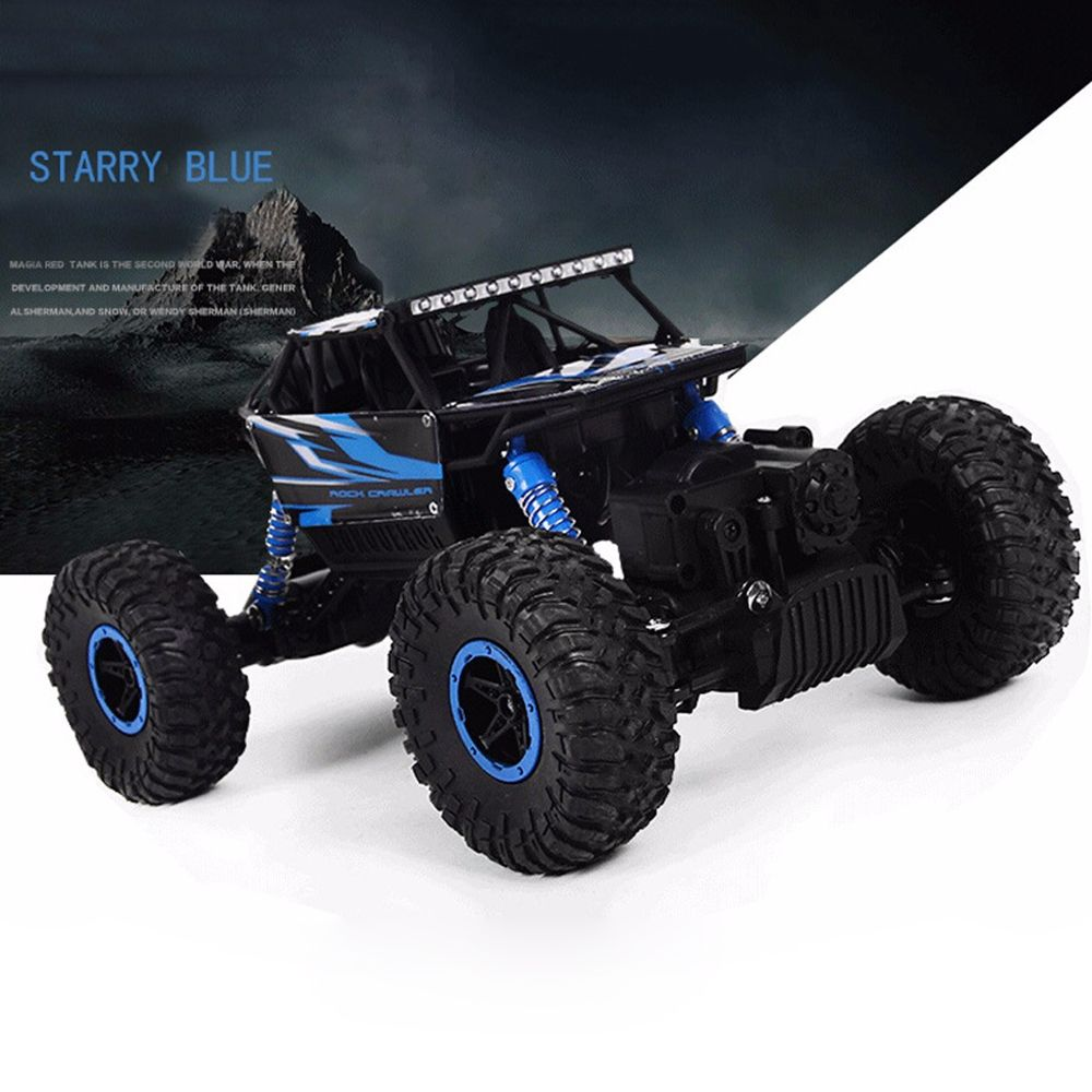 Hot RC Car 4WD 2.4G 4WD 4x4 Driving Rock Crawlers Car Double <font><b>Motors</b></font> Drive Bigfoot Cars Remote Control Model Off-Road Vehicle Toy