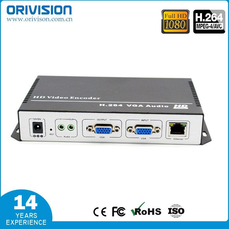ZY-EV101 H.264 VGA Video Encoder / Support HTTP RTMP UDP RTSP ONVIF LIVE and live stream encoder, factory supplier