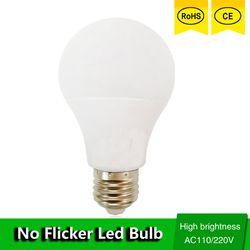 Lâmpada CONDUZIDA E27 Lâmpada LED Luz B22 3 W 5 W 7 W 9 W 12 W 15 W 110 v 220 V Watt Real SMD2835 Lampada de refrigeração de alumínio de Alta Brilhante LEVOU luzes