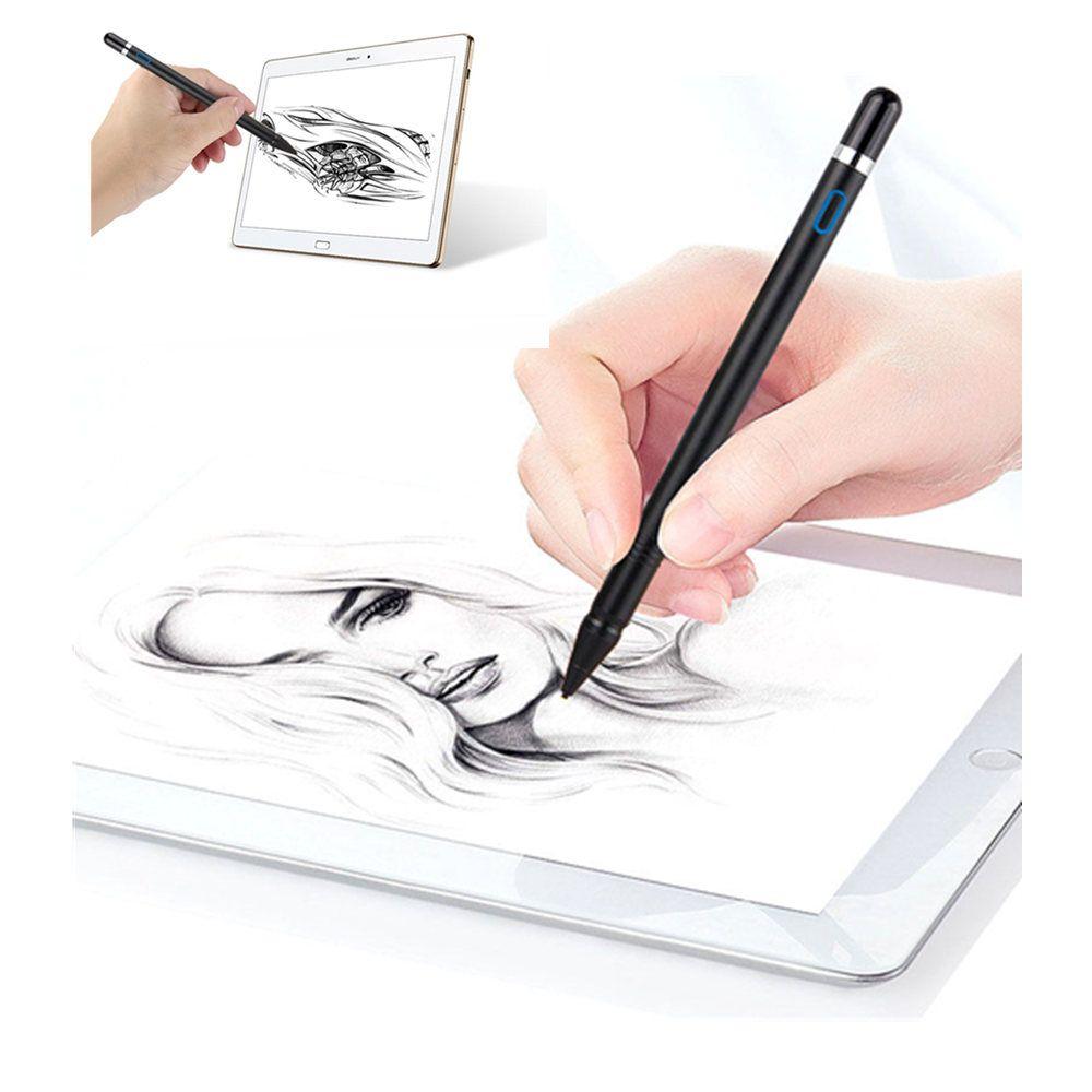 NIB 1,3mm Stift Aktive Stylus Kapazitive Touchscreen Stift Für Samsung Galaxy Tab EINE A6 A2 S S4 10,5 s2 S3 9,7 7,0 8,0 Tablet Bleistift