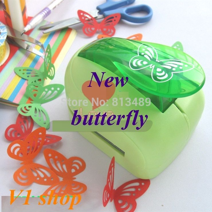 Envío gratis 2014 Nueva 33 cm mariposa golpes edición limitada grandes golpes de artesanía perforadora decorativa muy hermosa