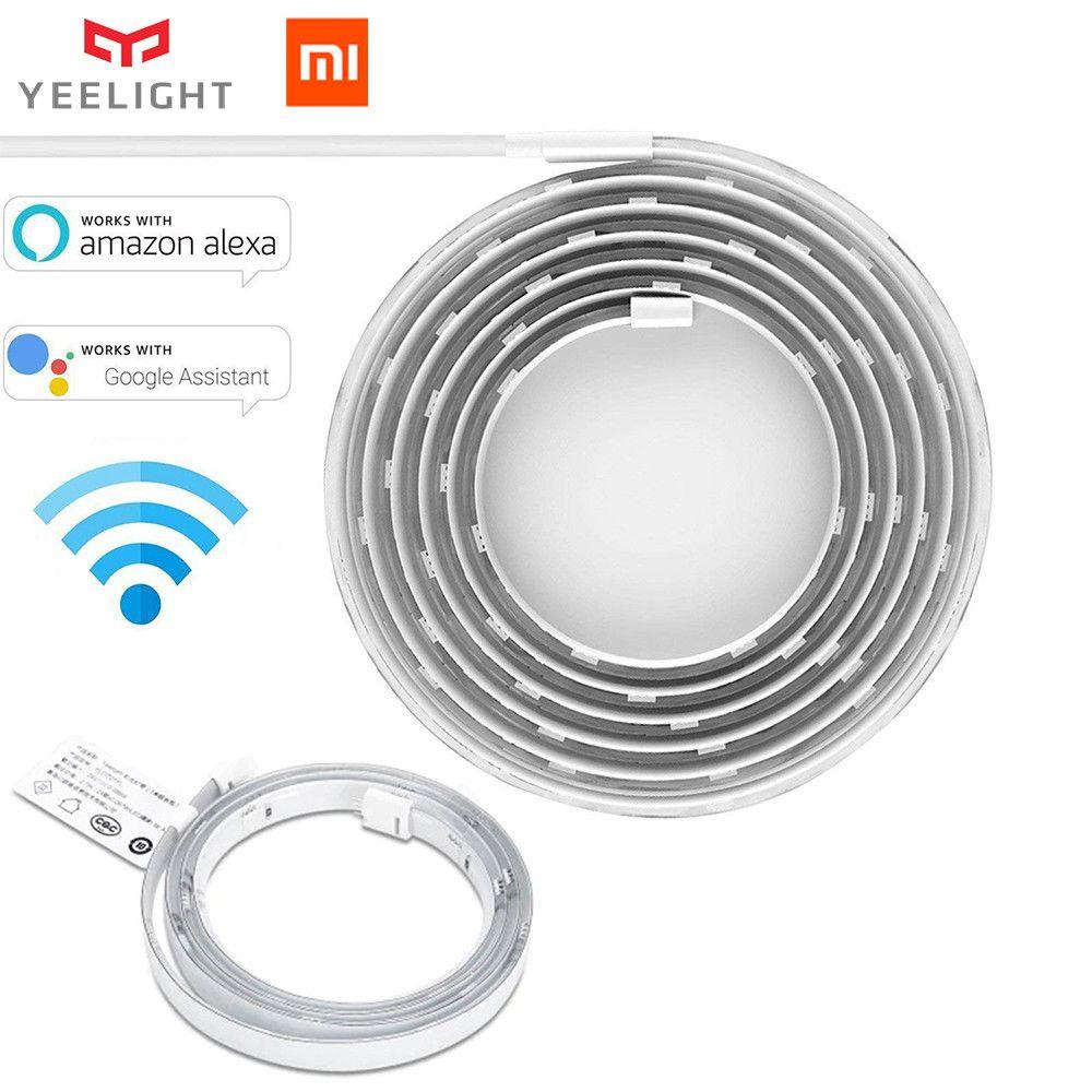 Xiaomi Yeelight RGB bande lumineuse intelligente Smart home Phone App wifi bande lumineuse agneau coloré LED 2 M 16 millions 60 LED