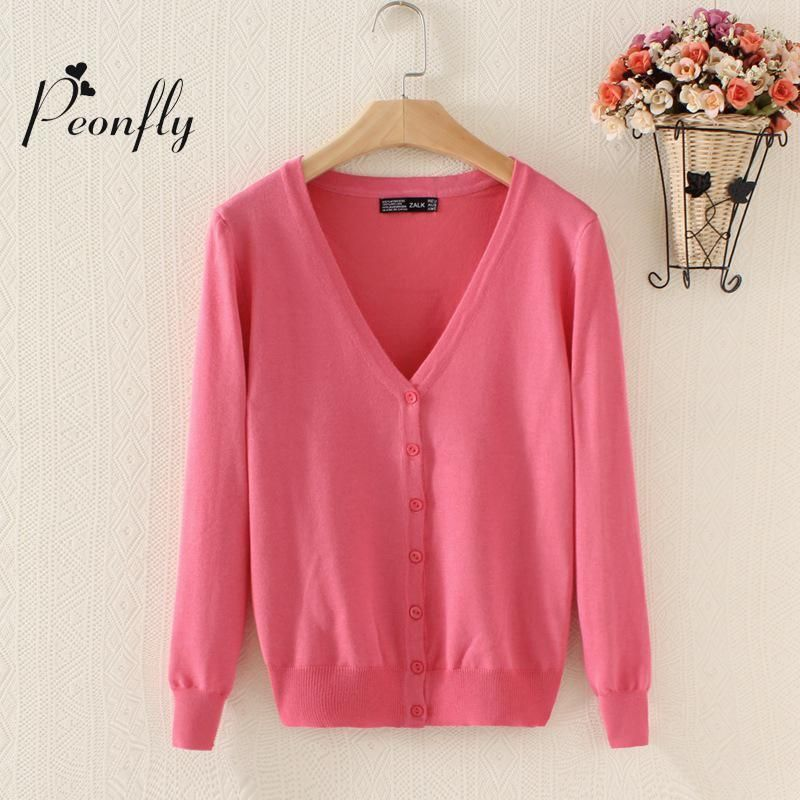 new Sweater Women Cardigan Knitted Sweater Coat Long Sleeve Crochet Female Casual V-Neck Woman Cardigans Tops poncho pull femme
