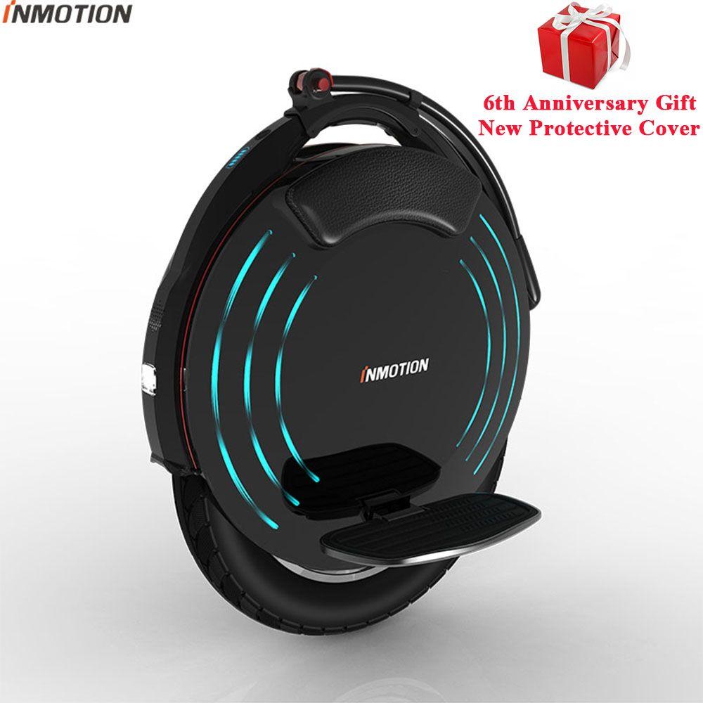 INMOTION V10/V10F Selbst Ausgleich Rad Roller Elektrische Einrad 2000 watt Bauen-in Griff Hoverboard Mit Dekorative Lampen
