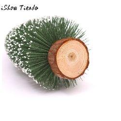 Mini Natal Pohon Lima Ukuran Stick White Cedar Desktop Kecil Pohon Natal Mini Kerstboom