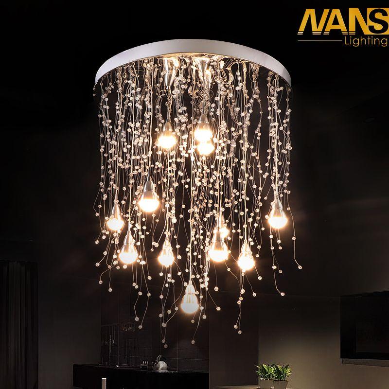 27 watt oder 36 watt Gang LED decke lampe wohnzimmer kristall korridor gang lichter LED Decke Lichter Luces de techo plafond lampe