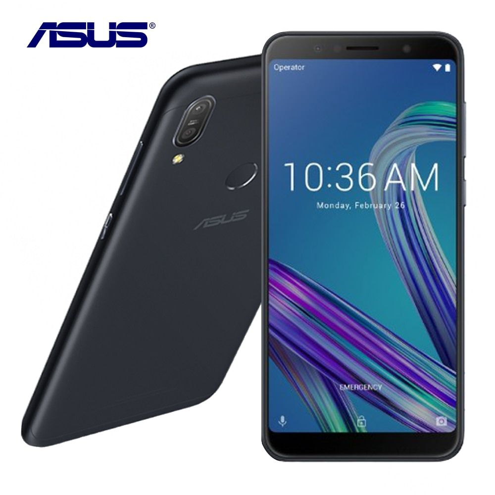 Neue Asus ZenFone Max Pro (M1) ZB602KL Globale Version 6g RAM 64g ROM 6,0 Octa Core 16MP Android 8.1 5000 mah Smart Handy