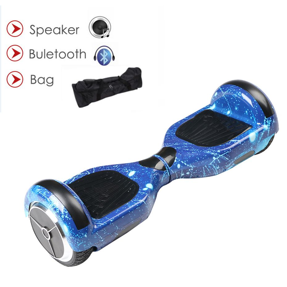 Ховербордом self баланс удар gyroscoot электрический скутер скейтборд oxboard Электрический hoverboard 6.5 дюймов два Колёса Hover доска