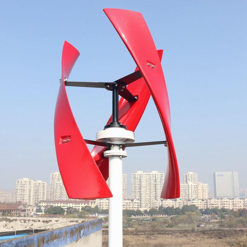 600 w Wind Turbine Power Generator Vertikale Maglev Bürstenlosen Freies Controller China Fabrik 2019 Neue