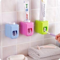 Nueva Touch auto automático dispensador de pasta de dientes exprimidor manos libres squeeze out