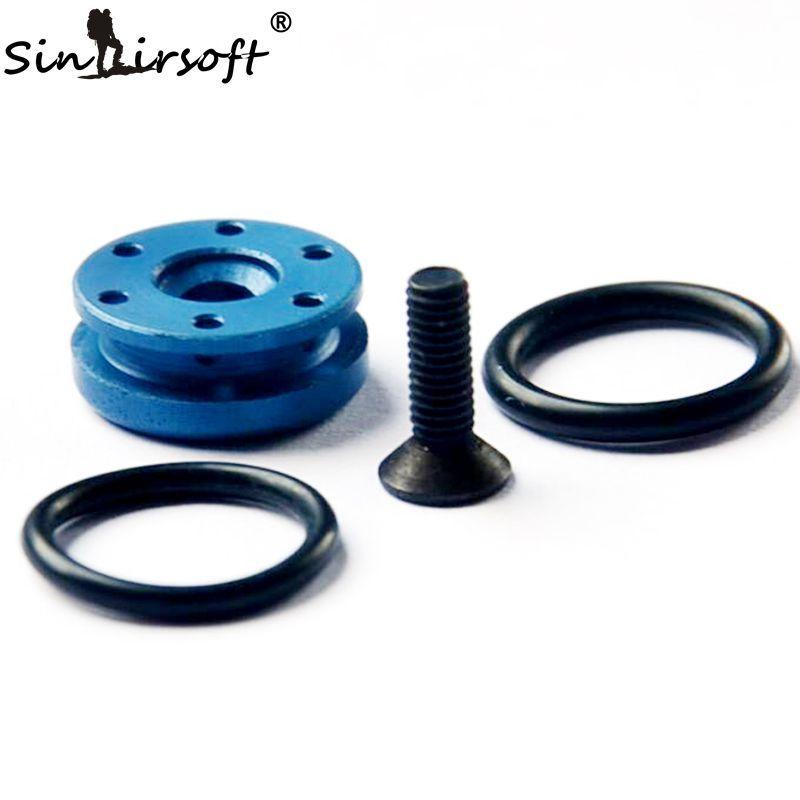SINAIRSOFT Airsoft GBB CNC Aluminum piston head for Glock 17 G17 G18 M9 M92 HI-CAPA M1911A1 P226 GSAT27 Softair Free Shipping