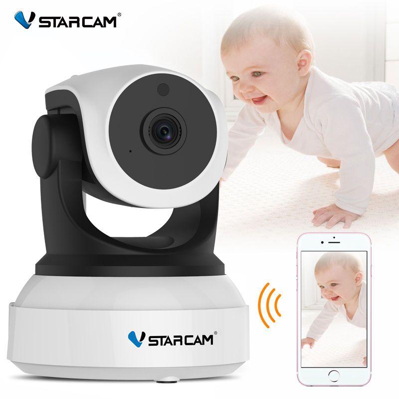 Vstarcam C7824WIP moniteur pour bébé wifi 2 façon audio appareil photo intelligent avec motion détection de Sécurité IP Caméra Sans Fil caméra embarquée