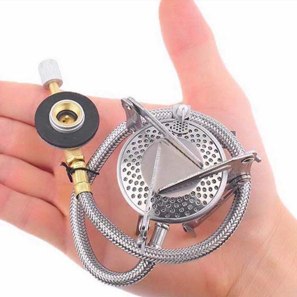 Foldable Practical Outdoor Camping gas Stove With Piezo Ignition
