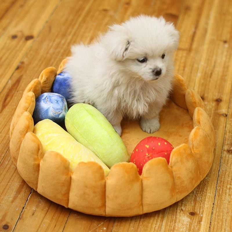 Flower Shape Fruit Pet Cat Dog Bed Cage Cute Pet Accessories Mini Pet Cat Dog Bed Accessories Dropshipping