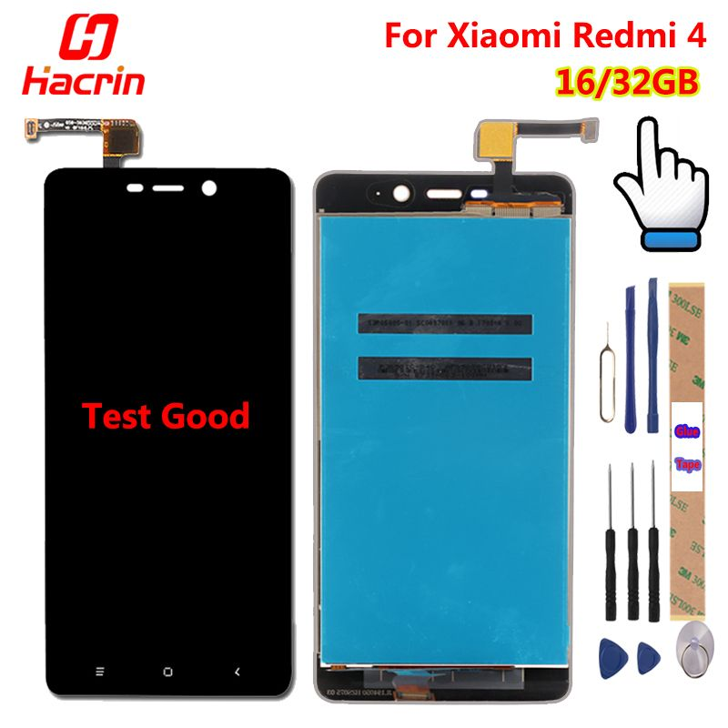 Xiaomi Redmi 4 Pro LCD display + Touch Screen Digitizer Sensor Assembly Replacement for Redmi 4 Redmi4 / Prime 5.0 inch