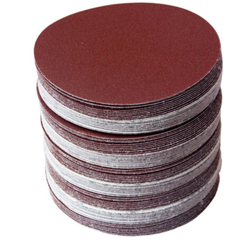 30pcs/set 5inch 125mm Round sandpaper Disk Sand Sheets Grit 80/100/120/180/240/320 Hook and Loop Sanding Disc for Sander Grits