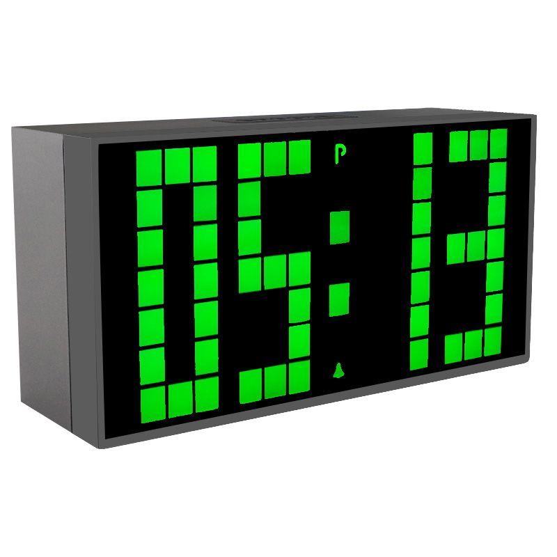 CH KOSDA Большой Цифровой Дисплей Настольные Часы LED Будильник номер Регистрации и Настенные Часы Температура Дата Повтор 6 Gruops Тревоги